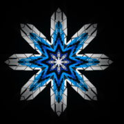 8-points-star-christmas-snowflake-blue-techno-sign-Video-Art-Vj-Loop_009 VJ Loops Farm