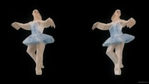 vj video background Beauty-Art-Tunnel-of-blonde-ballerin-ballet-dancing-girls-in-blue-dress-spinning-over-alpha-channel-4K-Video-Footag-30fps_003