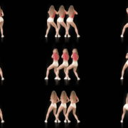 Bootie-Twerk-Dancing-Girl-4K-Video-Art-Vj-Loop-1920 VJ Loops Farm