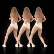 Bootie-Twerk-Dancing-Girl-4K-Video-Art-Vj-Loop-1920_008 VJ Loops Farm