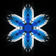 vj video background Hexagram-6-point-blue-star-Geometric-snowflake-Full-HD-Video-Art-Symbolic-Vj-Loop_003