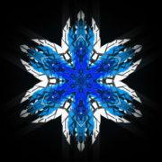 Hexagram-6-point-blue-star-Geometric-snowflake-Full-HD-Video-Art-Symbolic-Vj-Loop_004 VJ Loops Farm