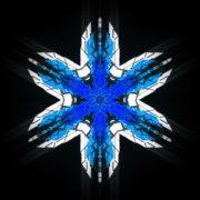 Hexagram-6-point-blue-star-Geometric-snowflake-Full-HD-Video-Art-Symbolic-Vj-Loop_005 VJ Loops Farm
