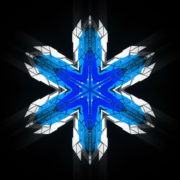 Hexagram-6-point-blue-star-Geometric-snowflake-Full-HD-Video-Art-Symbolic-Vj-Loop_006 VJ Loops Farm
