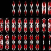 Power-Line-Wall-geometric-pattern-red-white-lines-Full-HD-Video-Art-VJ-Loop VJ Loops Farm