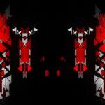 vj video background Red-Rye-geomety-pattern-pillars-animation-Video-Art-Vj-Loop_003