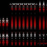 Red-geometric-triangles-columns-patterns-Full-HD-Video-Art-Vj-Loop VJ Loops Farm