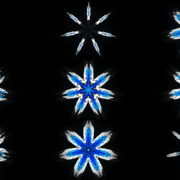 Septener-Star-Of-The-Magicians-blue-geometric-7-points-symbolik-snowflake-video-art-vj-loop VJ Loops Farm