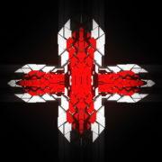 Templar-geometric-cross-sign-white-red-symbol-Video-Art-Vj-Loop_005 VJ Loops Farm
