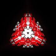 vj video background Triangle-geometric-fire-pattern-red-symbol-Full-HD-Video-Art-Vj-Loop_003