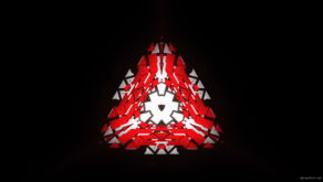 vj video background Triangle-geometric-fire-pattern-red-symbol-Full-HD-Video-Art-Vj-Loop_003