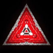 Triangle-geometric-fire-pattern-red-symbol-Full-HD-Video-Art-Vj-Loop_005 VJ Loops Farm