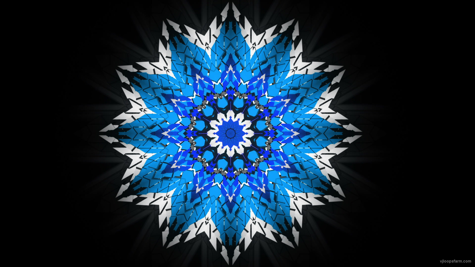 vj video background Twelve-points-star-snowflake-christmas-techno-geometric-sign-video-art-VJ-Loop_003