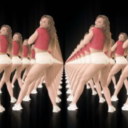 Twerking-girl-army-tunnel-isolated-on-black-background-VJ-Video-Footage-1920_005 VJ Loops Farm