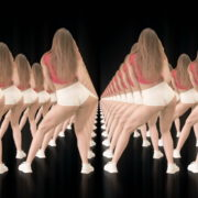 Twerking-girl-army-tunnel-isolated-on-black-background-VJ-Video-Footage-1920_008 VJ Loops Farm