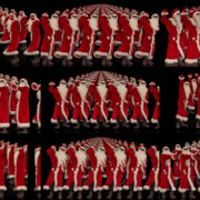 Army-of-Dancing-Santa-Clauses-chilling-on-rave-isolated-on-black-background-4K-Video-Art-VJ-Footage-1920 VJ Loops Farm