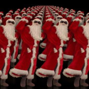 Army-of-Dancing-Santa-Clauses-chilling-on-rave-isolated-on-black-background-4K-Video-Art-VJ-Footage-1920_002 VJ Loops Farm