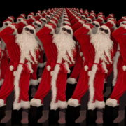 Army-of-Dancing-Santa-Clauses-chilling-on-rave-isolated-on-black-background-4K-Video-Art-VJ-Footage-1920_008 VJ Loops Farm