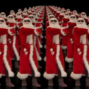 Army-of-Dancing-Santa-Clauses-chilling-on-rave-isolated-on-black-background-4K-Video-Art-VJ-Footage-1920_009 VJ Loops Farm