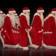 Army-of-Santa-Claus-walking-isolated-on-black-background-Video-Art-4K-Vjing-Footage-1920_004 VJ Loops Farm