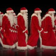 Army-of-Santa-Claus-walking-isolated-on-black-background-Video-Art-4K-Vjing-Footage-1920_005 VJ Loops Farm