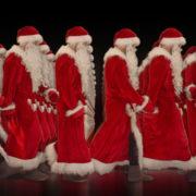 Army-of-Santa-Claus-walking-isolated-on-black-background-Video-Art-4K-Vjing-Footage-1920_006 VJ Loops Farm