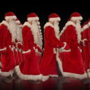 Army-of-Santa-Claus-walking-isolated-on-black-background-Video-Art-4K-Vjing-Footage-1920_007 VJ Loops Farm