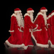 Army-of-Santa-Claus-walking-isolated-on-black-background-Video-Art-4K-Vjing-Footage-1920_008 VJ Loops Farm