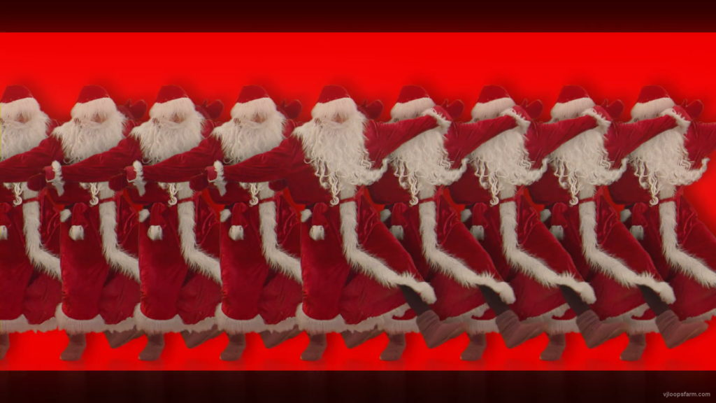 vj video background Christmas-Santa-Claus-Dancing-RAVE-Jump-4K-Video-VJ-Footage-1920_003