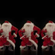 Christmas-Santa-Claus-Dancing-RAVE-Jump-4K-Video-VJ-Footage-1920_006 VJ Loops Farm