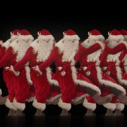 Christmas-Santa-Claus-Dancing-RAVE-Jump-4K-Video-VJ-Footage-1920_008 VJ Loops Farm