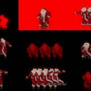 Dancing-Santa-Claus-Sliding-body-to-the-Rave-Strobbing-Effect-VJ-Art-4K-Video-Footage--1920 VJ Loops Farm