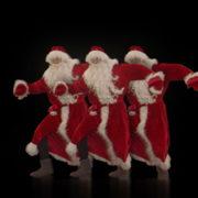 Dancing-Santa-Claus-Sliding-body-to-the-Rave-Strobbing-Effect-VJ-Art-4K-Video-Footage--1920_007 VJ Loops Farm