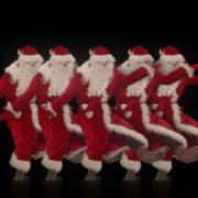 Dancing-Santa-Claus-Sliding-body-to-the-Rave-Strobbing-Effect-VJ-Art-4K-Video-Footage--1920_008 VJ Loops Farm