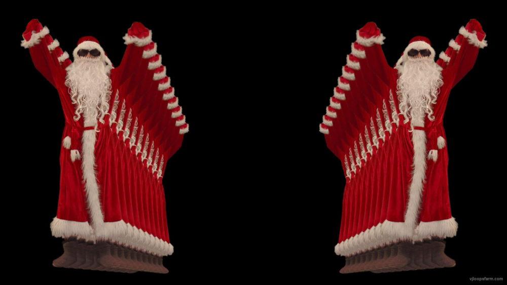 vj video background Double-Beat-by-Santa-Claus-Twins-EDM-Video-Art-4K-VJ-Footage-1920_003