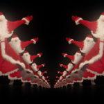 vj video background Happy-santa-claus-dancing-tunnel-through-black-background-VJing-Video-Art-Footage-1920_003