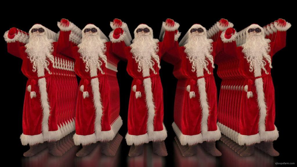vj video background Power-Beats-by-Santa-Claus-Group-Video-Art-4K-VJ-Footage-1920_003