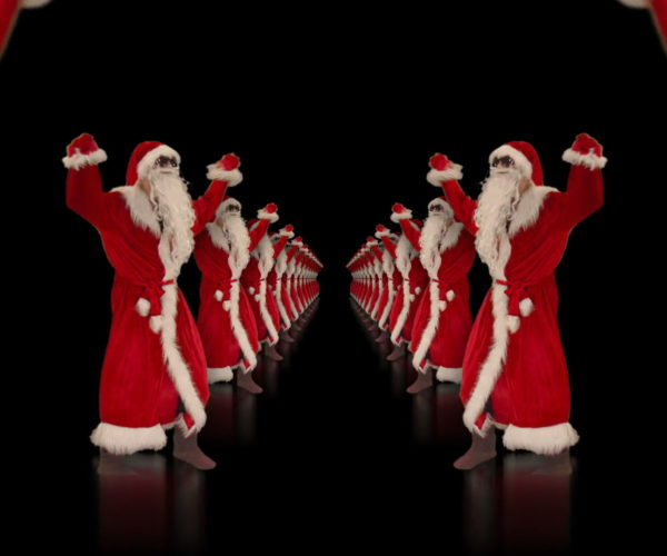 vj video background Santa-Claus-Dance-in-Tunnel-Flight-4K-Video-Art-Vj-Footage-1920_003