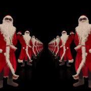Santa-Claus-Dance-in-Tunnel-Flight-4K-Video-Art-Vj-Footage-1920_005 VJ Loops Farm