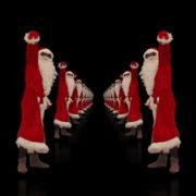 Santa-Claus-Dance-in-Tunnel-Flight-4K-Video-Art-Vj-Footage-1920_006 VJ Loops Farm