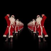 Santa-Claus-Dance-in-Tunnel-Flight-4K-Video-Art-Vj-Footage-1920_008 VJ Loops Farm