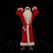 Santa-Claus-making-beats-with-strobe-effect-by-hands-4K-Video-Art-Vj-Footage-1920_002 VJ Loops Farm