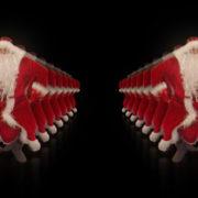 Santa-Claus-on-Rave-Jump-in-tunnel-flow-on-black-background-VJing-Video-Art-Footage-1920_002 VJ Loops Farm