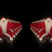 Santa-Claus-on-Rave-Jump-in-tunnel-flow-on-black-background-VJing-Video-Art-Footage-1920_005 VJ Loops Farm