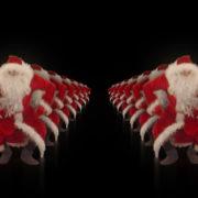Santa-Claus-on-Rave-Jump-in-tunnel-flow-on-black-background-VJing-Video-Art-Footage-1920_006 VJ Loops Farm
