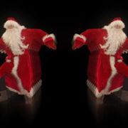 Santa-Claus-on-Rave-Jump-in-tunnel-flow-on-black-background-VJing-Video-Art-Footage-1920_007 VJ Loops Farm