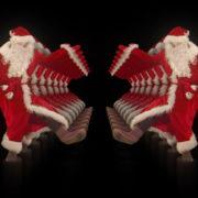 Santa-Claus-on-Rave-Jump-in-tunnel-flow-on-black-background-VJing-Video-Art-Footage-1920_008 VJ Loops Farm