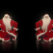 Santa-Claus-on-Rave-Jump-in-tunnel-flow-on-black-background-VJing-Video-Art-Footage-1920_009 VJ Loops Farm