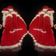 Team-of-Santa-Claus-go-from-center-to-the-side-4K-Video-VJ-Footage-1920_004 VJ Loops Farm