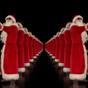 Tunnel-of-Dancing-Santa-Clauses-isolated-on-black-background-4K-Video-Art-VJ-Footage-1920_004 VJ Loops Farm